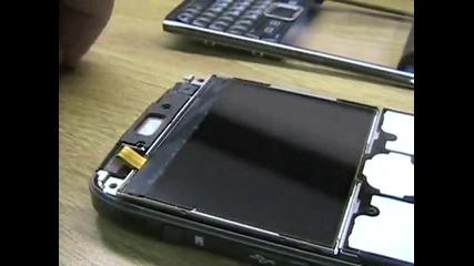 Разглобяване на Nokia e71