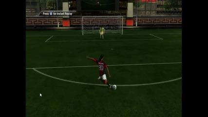 Много як гол на Fifa 11 с Роналдиньо