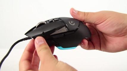 Най-бързата мишка в Света! 12 000dpi - Logitech G502 Proteus Core