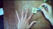 Шаблон за маникюр-по лесно лакирване -diy