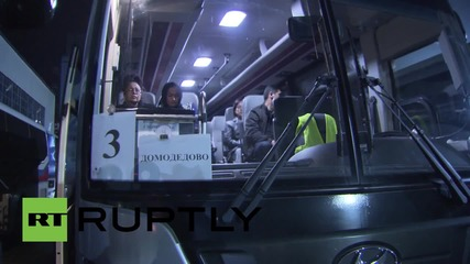 Russia: Foreign citizens fleeing Yemen arrive safely in Moscow
