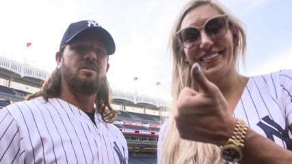 Charlotte Flair shares some conspiratorial intel on AJ Styles at Yankee Stadium: SummerSlam Diary