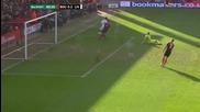 (2014 - Fa Cup) Борнемут - Ливърпул (0-2) Гола на Стъридж