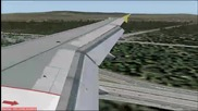 A319 каца във Франкфурт