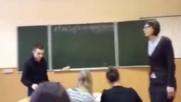 Вижте какво се случва в училищата в Русия с гаменчетата, които се осмеляват да посегнат на учител