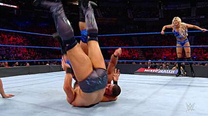 The Miz & Asuka vs. Bobby Roode & Charlotte Flair: WWE Mixed Match Challenge, April 3, 2018 (Full Match)