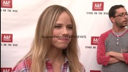 Interview - Halston Sage on how it feels to be selected a...