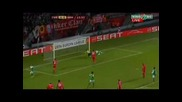 18.2.2010 Твенте - Вердер Бремен 1 - 0 Ле 1/16 финали