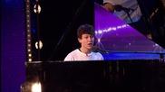 Момче разтопи журито и публиката с изпълнението си - Britain's Got Talent 2015