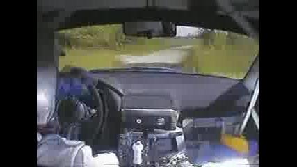Subaru Impreza Wrc - Polish driver got crazy