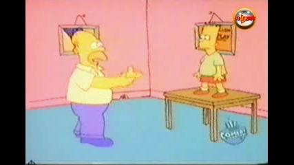 The Simpsons Shorts ep.03 - Барт се учи да скача