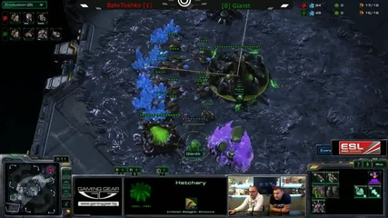 Starcraft 2: Bate Toshko[z] vs Giantt[z] - Afk Tv Еп. 28 част 6