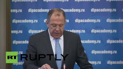 Russia: Lavrov names Patriarch Kirill 'Honourable Doctor' of the FM's Diplomatic Academy