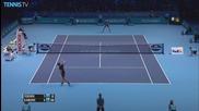 Barclays Atp World Tour Finals 2015 - Djokovic Rips a Hot Shot
