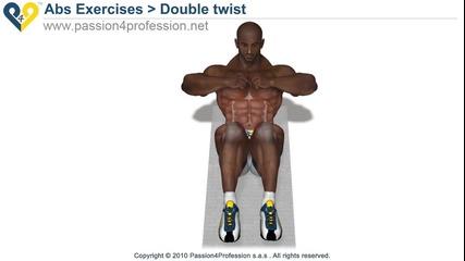 Домашен Фитнес ; Упражнение за корем