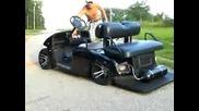 тунинг на голф количка !!!