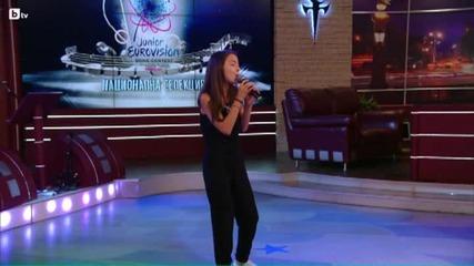 Феноменално представяне на Детска Евровизия 20015 - Национална селекция - Габриела Йорданова