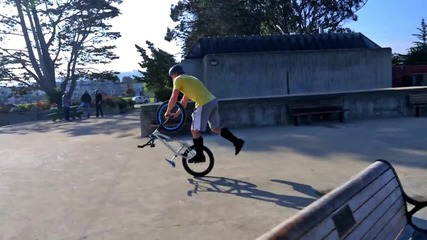 Bike Parkour -streets of San Francisco! - uget