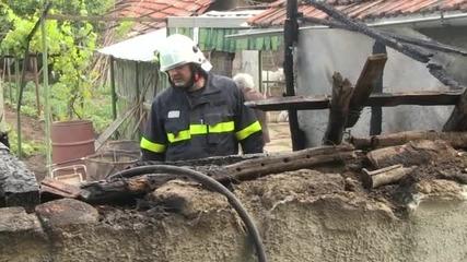 82-годишна жена оцеля в пожар