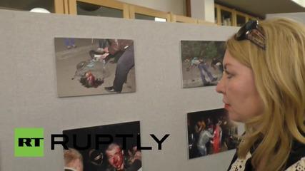 Фотоизложба в Лондон в памет на жертвите от Одеса
