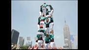 Кула от хора бе издигната в Ню Йорк