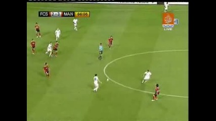Гола на Бербатов - Seoul Fc vs Manchester United
