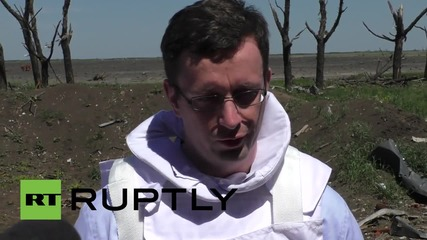 Ukraine: OSCE recover bodies of Ukrainian soldiers at Donetsk Airport