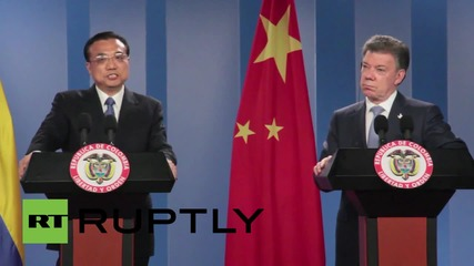 Colombia: Chinese Premier Li Keqiang touts bilateral free trade zone
