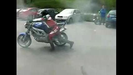 Tapak s motor se prebiva