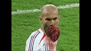 Топ 20 удара на Zidane с глава по Матераци (102 % смях)