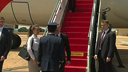 Brazil: Putin touches down in Brasilia for 11th BRICS summit