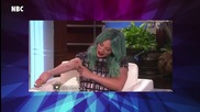 Hilary Duff Explains Blue Hair