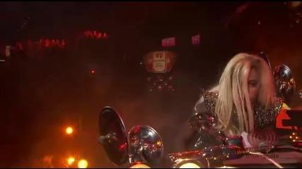 Lady Gaga You And I (live At iheartradio 2011) Hd (високо качество)