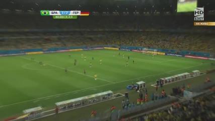 Световно първенство по футбол 2014 Бразилия - Германия - Второ полувреме Част 4/4