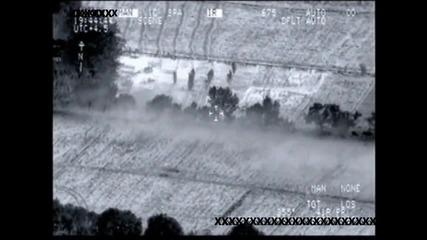 Ексклузивни военни данни - A10 Warthog напада патрул на талибани