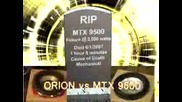 Orion Hcca Vs. Mtx 9500