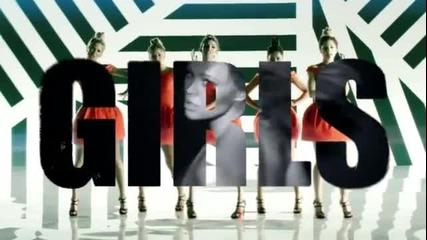 Girls Aloud - Something New ( Официално видео )