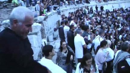Концерт на 100 каба гайди- Стария град,пловдив 2016 г. част 1