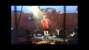 Ac Dc - Thunderstruck (live) (Превод)