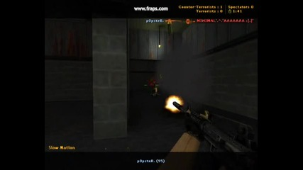 Counter-strike 1.6 Freak Gaming p0pster & scrapppy