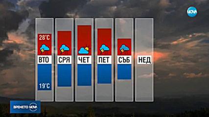 Прогноза за времето (25.06.2019 - обедна емисия)
