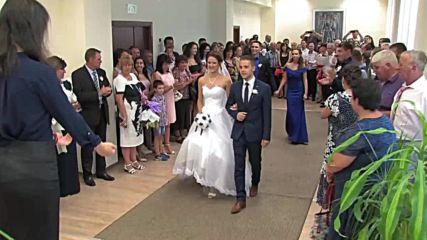 Сватбен видеоклип - Димитрина и Марио, 2017