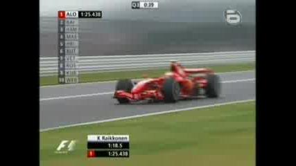 F1 2007 Japanese Gp Qualifying With Alonso