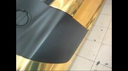 Audi R8 золото Hexis