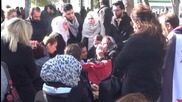 Turkey: Hundreds mourn assassinated anti-IS journalist Naji al-Jarf in Gaziantep