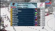 Biathlon Hochfilzen Womens 4х6 Relay 2013.12.07