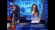 Соня и шанел пеят в дует - its raining men - Music Idol 2 - 17.03.2008г