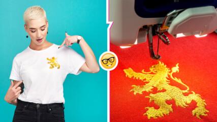 Защо производителите на дрехи поставят логата си винаги отляво на дрехите си?