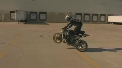 Motorcycle Stunts - Zero miles