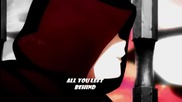 (sao) Sword art Online Amv - Chalk Outline W/ lyrics